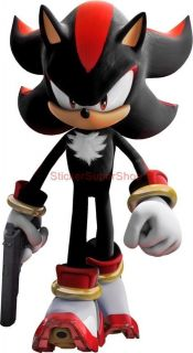 SHADOW The Hedgehog SONIC Decal Removable WALL STICKER Video Game