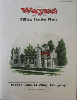 WAYNE VISIBLE GAS PUMP Gas Station PHOTOS ILLUSRATED CATALOG Pictures