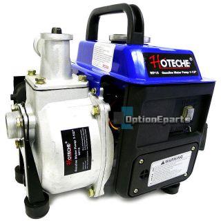 Gas Water Pump Trash 1.5 NPT 63cc 2 Stroke Air Cooled Gasoline Pumps