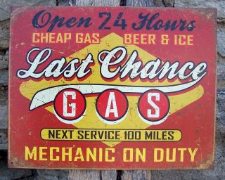 antique gas station signs in Collectibles