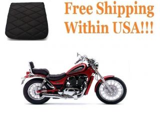 Motorcycle Rear Back Seat Gel Pad Cushion for Suzuki VS 800 Intruder