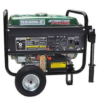 Pentagon Tools Twister 4400 Gas Portable Generator 7 HP OHV Electric