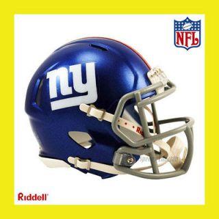 NEW YORK GIANTS OFFICIAL NFL MINI SPEED FOOTBALL HELMET by RIDDELL