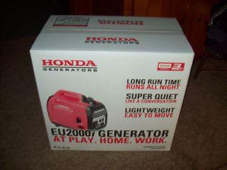 honda 2000 generators in Business & Industrial