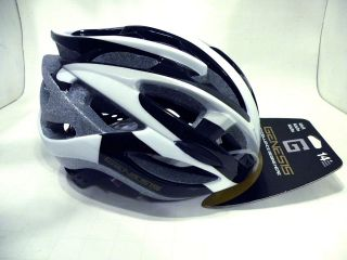 GENESIS   bicycle HELMET  bike   BLACK/White   New