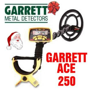 Garrett Ace 250 Metal Detector with 2 Year Garrett Warranty + Free