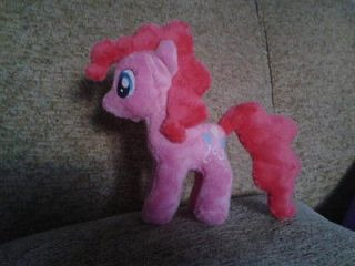 Pinkie Pie Plush   Custom Handmade   My Little Pony Friendship Is