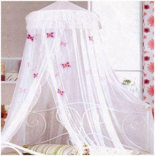 Butterflies Bed Net Double Bed Bedding Canopy Girls Kids Butterfly
