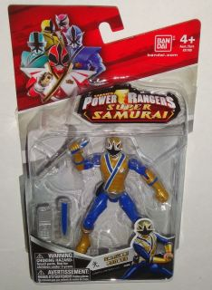 Power Rangers Samurai figure 4 inch Gold Light Samurai Ranger
