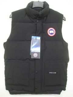 NEW CANADA GOOSE FREESTYLE VEST BLACK AUTHENTIC FAST SHIP DOWN XL WARM