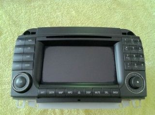 MERCEDES BENZ COMMAND GPS NAVIGATION RADIO SCREEN MONITOR 03 W220 S430