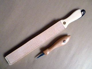 ~Woodworkers~Leather~Bench Strop~Sharpen~Knives~Gouges~Chisels~Razors