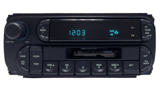 05 CHRYSLER DODGE JEEP Ram Intrepid Radio Stereo Tape Player RBB OEM