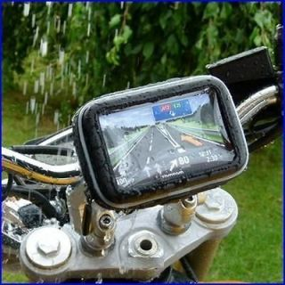 Sat Nav GPS Case Cover Holder For Motor cycle Bike with Waterproof