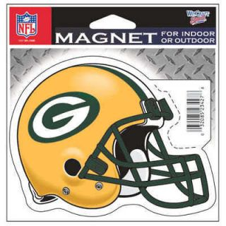 Green Bay Packers Helmet Logo Large Die Cut Magnet
