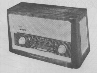 1958 GRUNDIG MAJESTIC 3028 RADIO SERVICE MANUAL SCHEMATIC REPAIR