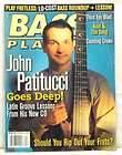 April 2000 BASS PLAYER GUITAR MAGAZINE JOHN PATITUCCI