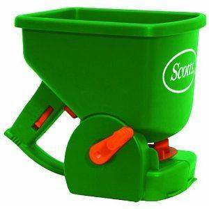 Hand Held Grass Seed Spreader Garden And Lawn Easy Care Tools Home New