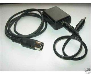 CAR RADIO CD IPOD CONNECTOR CABLE LOOK BECKER BLAUPUNKT GRUNDIG