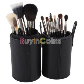 Powder Blush Goat Hair Makeup Brush Cosmetic Brushes Set With Cas