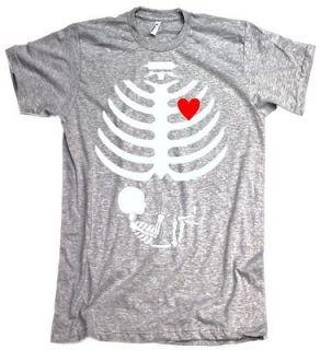 Maternity Baby Skeleton Love Halloween Costume Funny Small Sm Sport