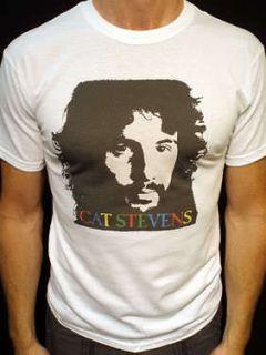 Cat Stevens t shirt vtg tour bob dylan the beatles simon & garfunkel