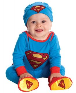 Newborn Infant Baby Boys Superman Halloween Costume Onesie
