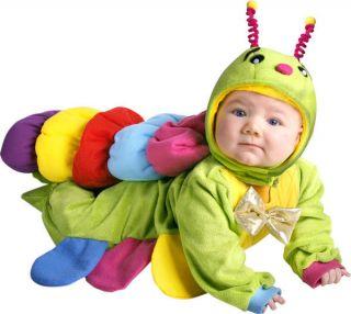 Newborn Babys Caterpillar Halloween Costume 6m