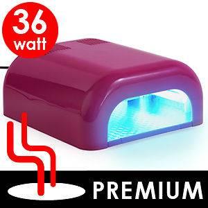 UV Gel Acrylic Curing Nail Polish Timer Dryer Lamp Light Spa Kit  O20