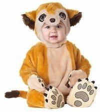 Infant Babys Animal Planet Meerkat Halloween Holiday Costume Party 12