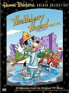 The Huckleberry Hound Show Vol. 1 (DVD, 2005 4 Disc Set)