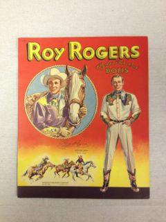 1948 ROY ROGERS RODEO CUT OUT DOLLS