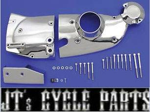 New Chrome Cam and Sprocket Cover Kit Harley Davidson Sportster 80 XL