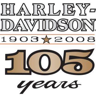 harley davidson anniversary decals