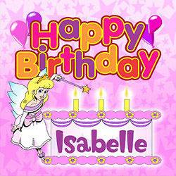 Girls Personalised Happy Birthday Song CD with name