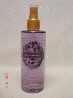 Victorias Secrets Refreshing Body Mist LOVE SPELL Cherry Blossom 8