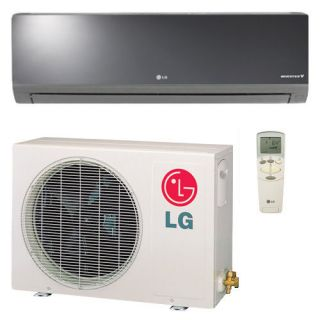 LG 9,000 BTU 20 SEER Ductless Art Cool Mini Split Heat Pump System