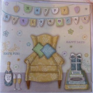 Happy Retirement Card Greetings Phoenix Trading unisex leaving good