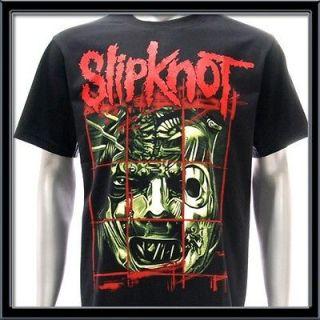 Sz M SLIPKNOT T shirt Heavy Metal Hard Rock Music Punk Tour Concert