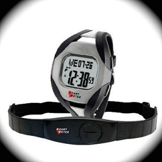 Wireless Heart Rate Monitor w/Fat Calorie Counter Watch