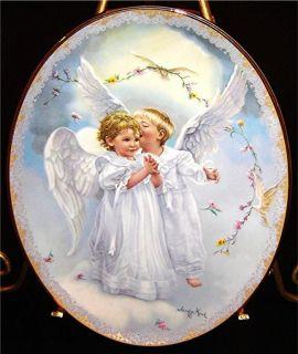 Sandra Kucks On Angels Wings Heavens Secrets Bradford Exchange