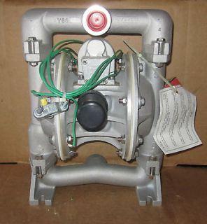 Alemite 1 Air Diaphragm Pump AODD Aluminum Buna, N UL Listed New