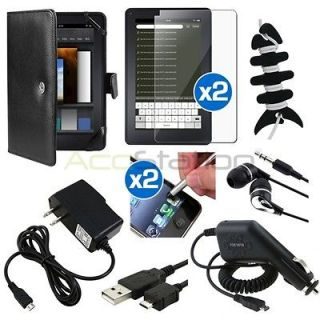 Newly listed 10 Accessory Leather Pouch Case+Chargers+2xLCD Guard+
