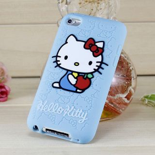 iPod Touch 4 4th Generation Hello Kitty Silicone Rubber Case   Baby