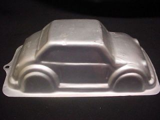 Wilton STANDUP CAR cake pan BIG AUTO 3D CRUISER mold tin AUTOMOBILE