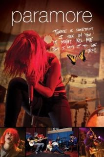 PARAMORE POSTER Hayley Williams LIVE Decode Lyrics NEW