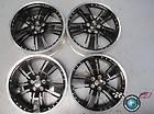 Four 10 12 Chevy Camaro Factory 21 Wheels OEM Rims Black 5467 5469