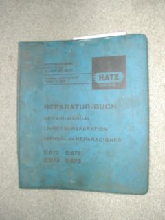 572 573 671 672 HE673 SERVICE SHOP REPAIR MANUAL DIESEL ENGINE BOOK