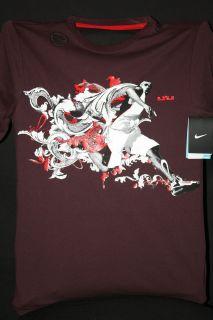Mens Basketball Dri Fit Shirt Lebron James Miami Heat KING JAMES