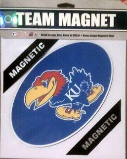 Kansas Jayhawks 8 Team Magnet Basketball Football University of
